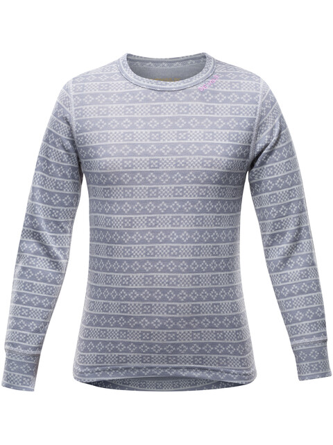 Devold Junior Alnes Shirt Grey